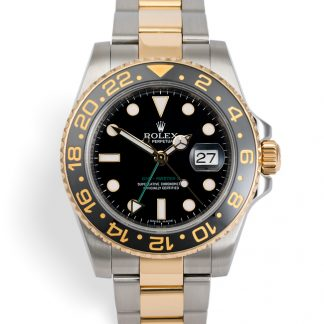 Rolex gmt master 2 two tone 116713ln