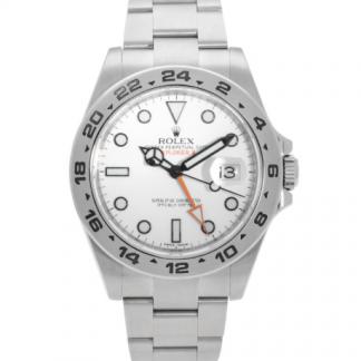 Rolex Explorer II 216570 white for sale