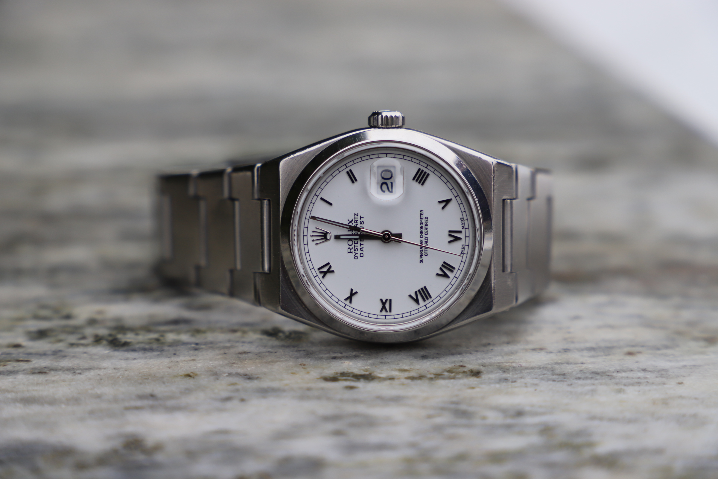 Rolex OysterQuartz Datejust Reference 17000