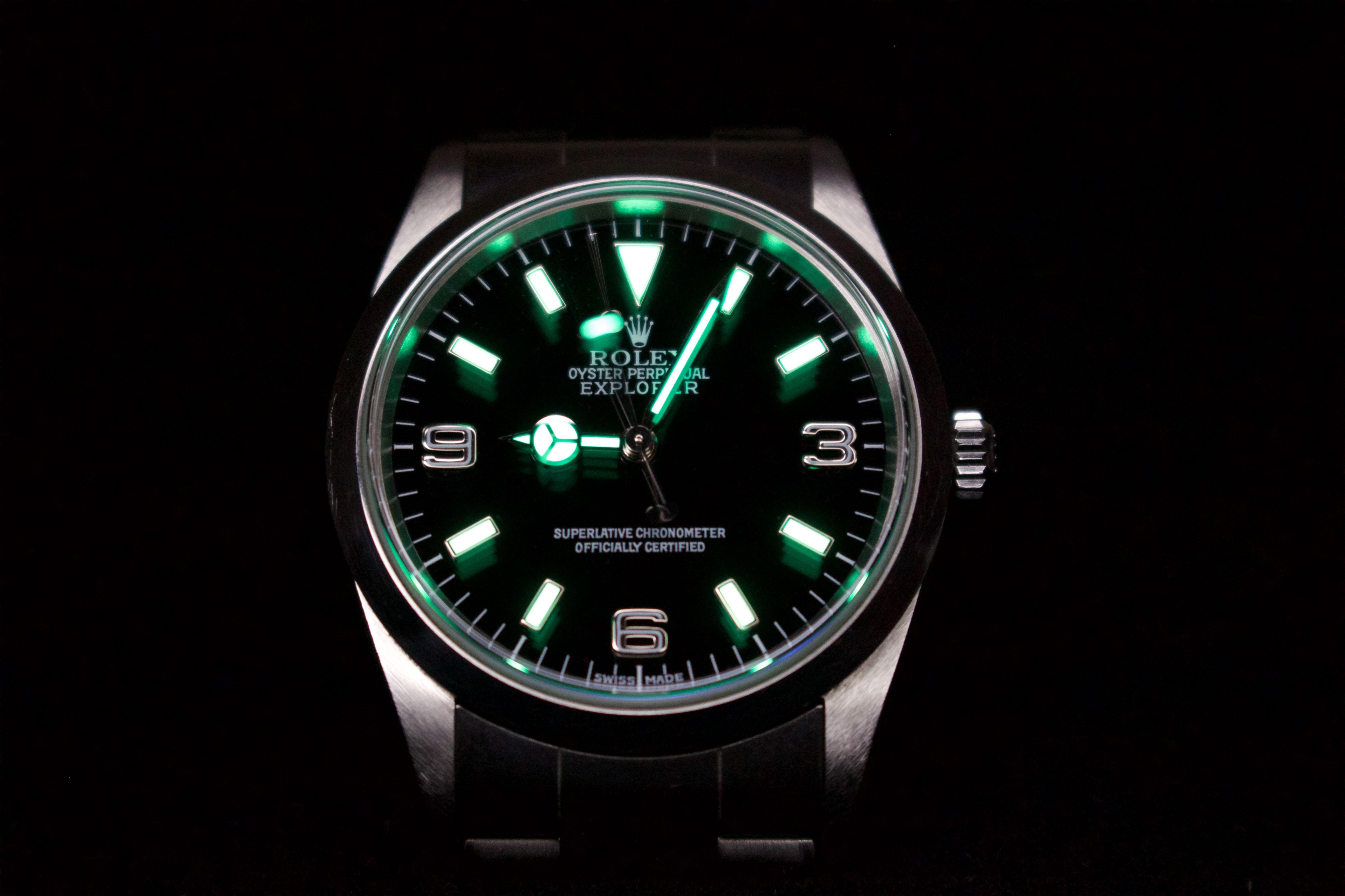 Rolex lumeshot