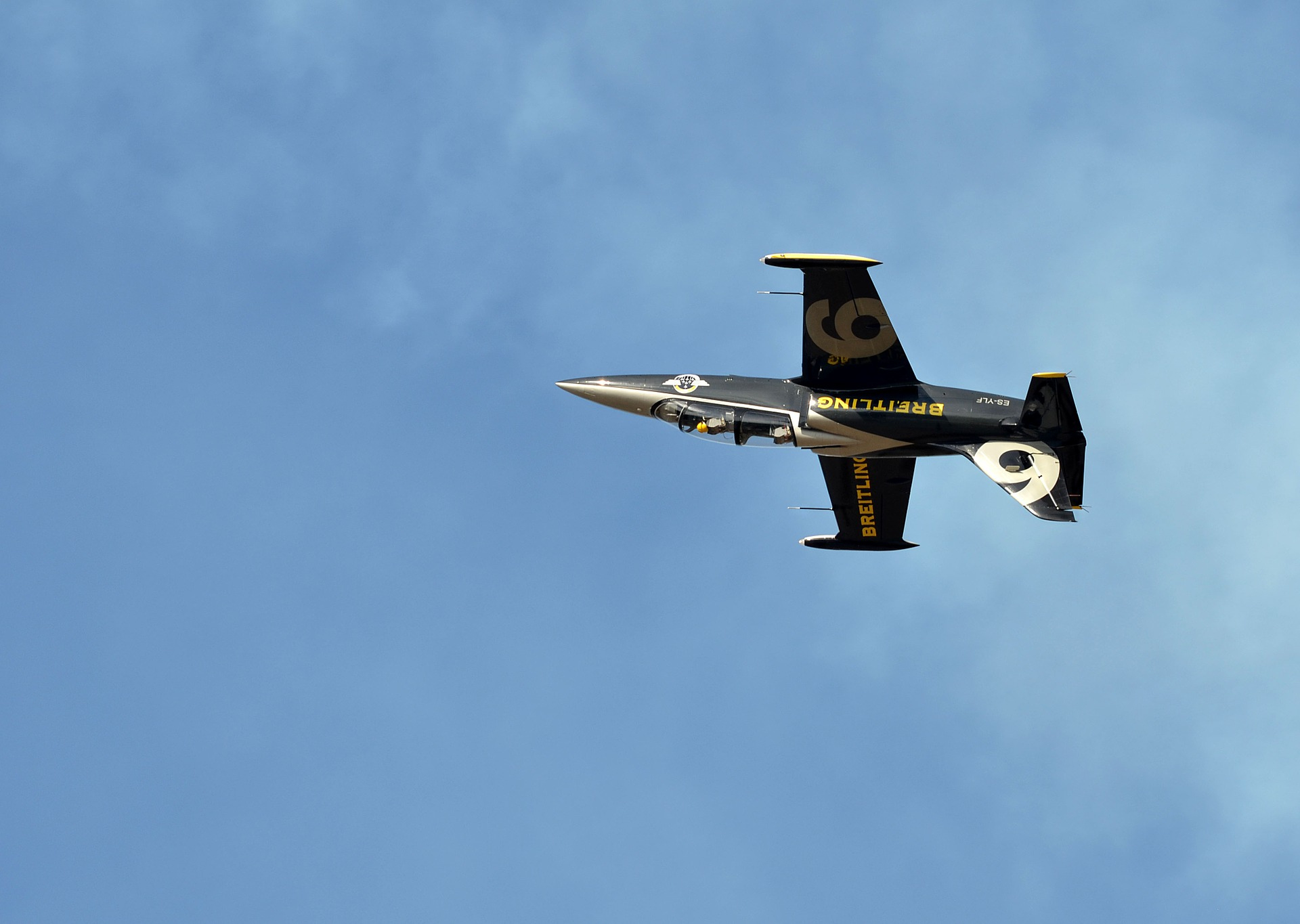 Breitling fighter aircraft