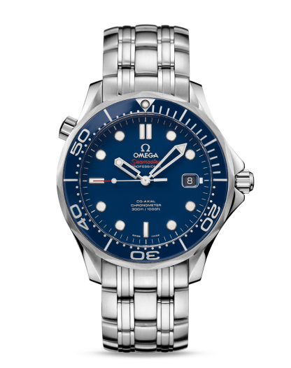 Omega Seamaster Diver 300m Co-Axial Blue for sale online