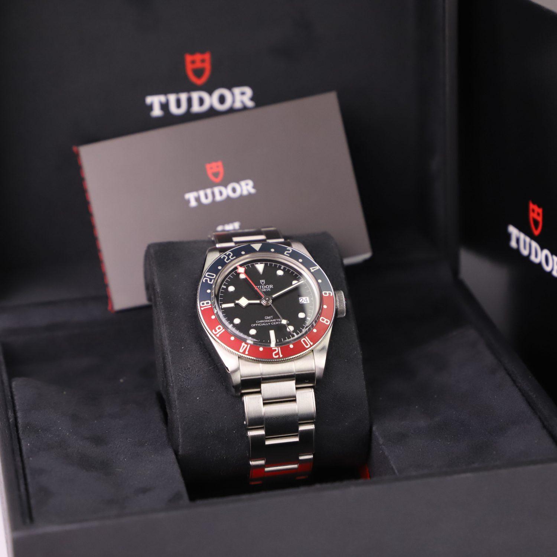 "Tudor Black Bay GMT ""Pepsi"" 79830RB"