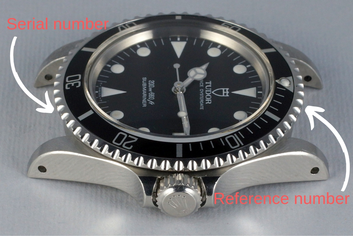 where can i find serial number on rolex