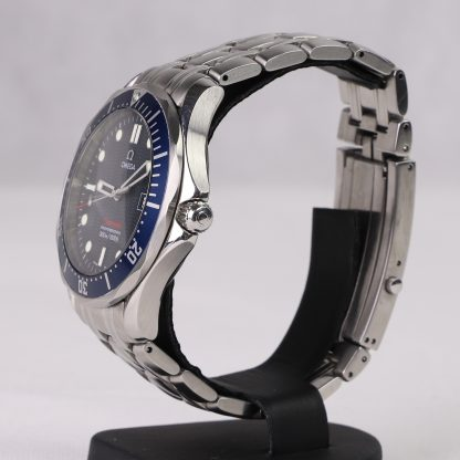 Omega 2541.80.00 Seamaster James Bond Quartz in Steel with Blue Dial