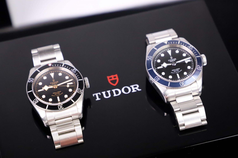 Tudor Black Bay blue vs black
