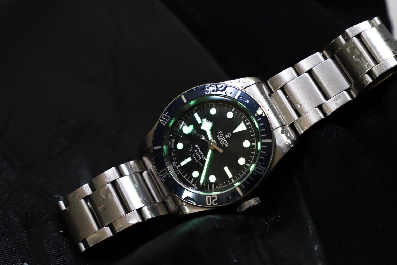 Tudor heritage Black Bay 79220B luminous
