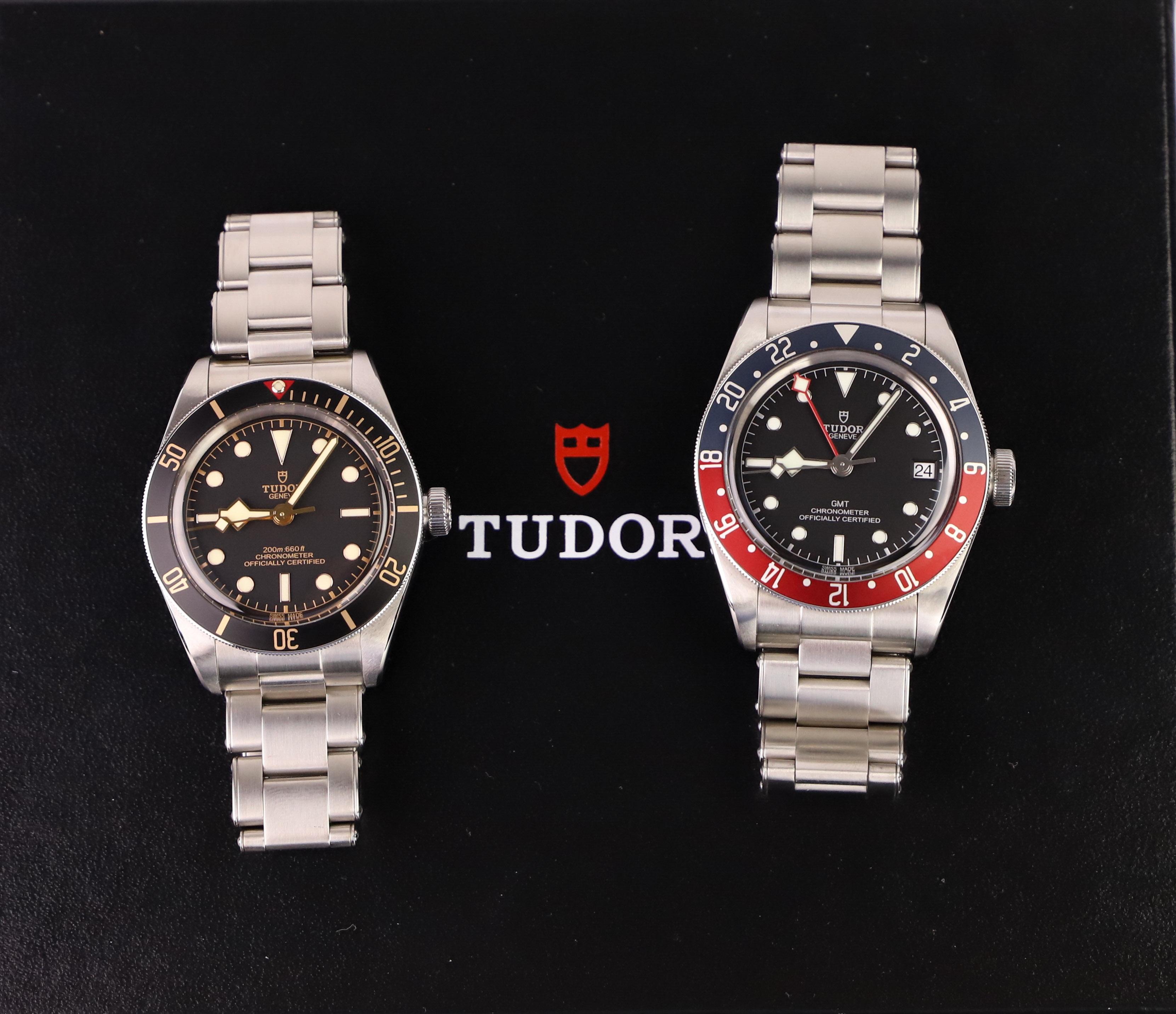 Tudor Black Bay GMT vs fifty-Eight