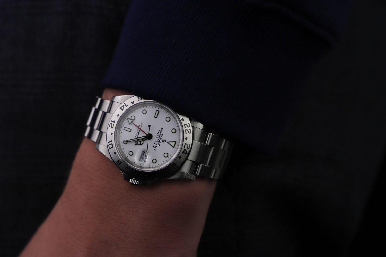 Rolex Explorer II 16570 polar