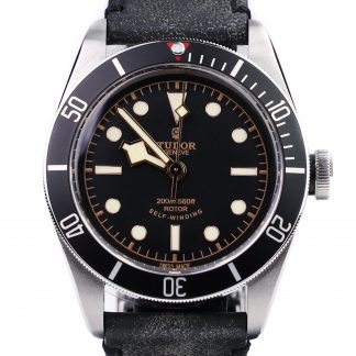 Tudor Heritage Black Bay 79220N Leather strap for sale online