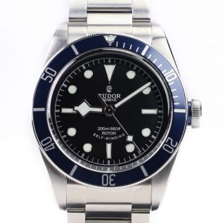 Tudor Heritage Black Bay Blue 79220B NOS (New Old Stock) for sale online