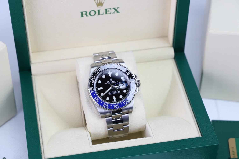 "Rolex GMT-Master II 116710BLNR ""Batman"" 2018"