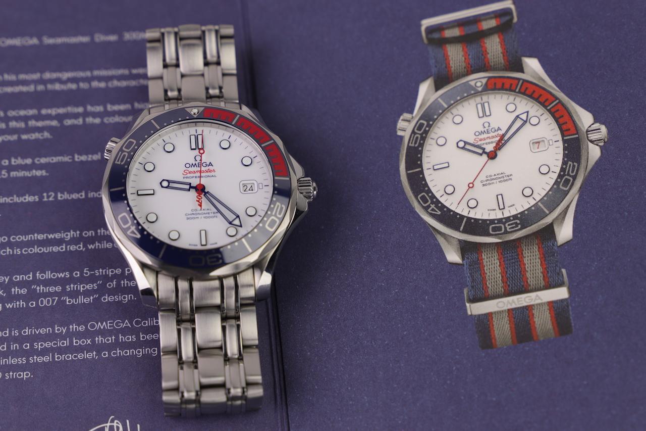 Omega Seamaster 300M Commander's watch