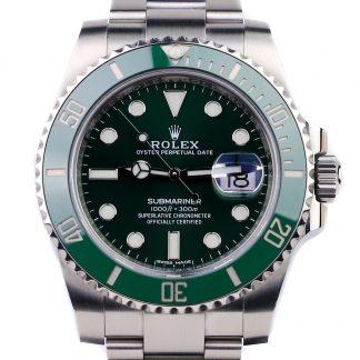 Rolex Submariner Green Dial Hulk 116610LV