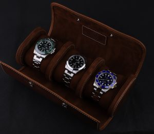 Three Rolex watches
