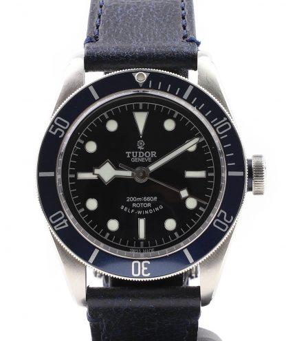 Tudor Heritage Black Bay 79220B Leather 2014