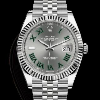 Rolex Datejust 41mm Wimbledon Dial 126334 for sale online