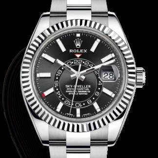 Rolex Sky-Dweller Black Dial 326934 for sale online