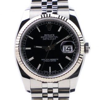 Rolex Datejust 116234 Black Dial 2018