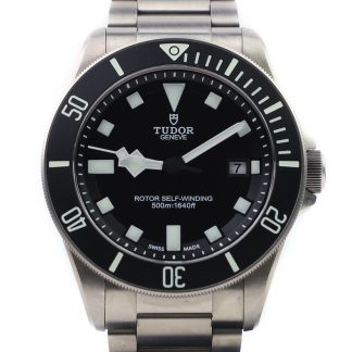 Tudor Pelagos Black First Edition 25500TN 2012