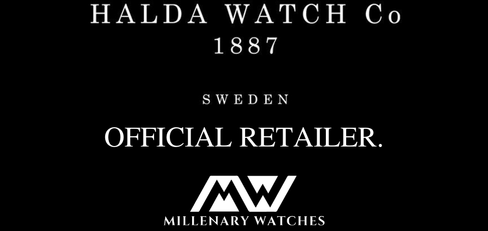 Halda Watch Co Official retailer Millenary Watches
