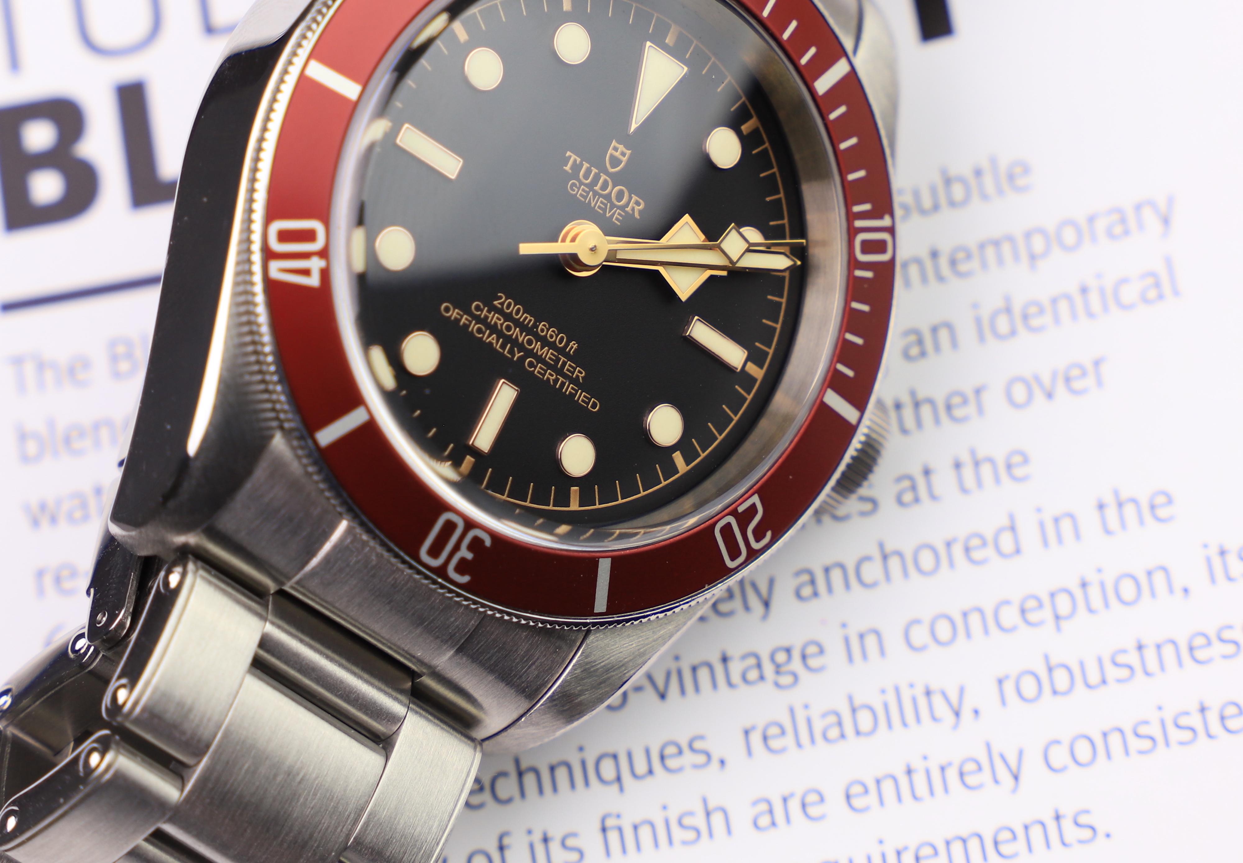 Tudor Black Bay 79230 dial