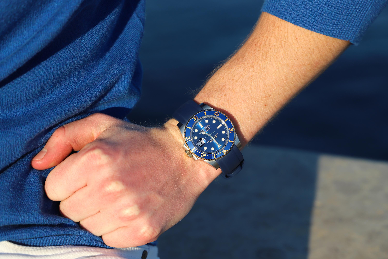 Rolex Submariner 116613LB wristshot