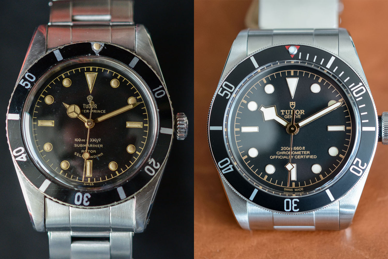 Tudor Black Bay vs Tudor submariner