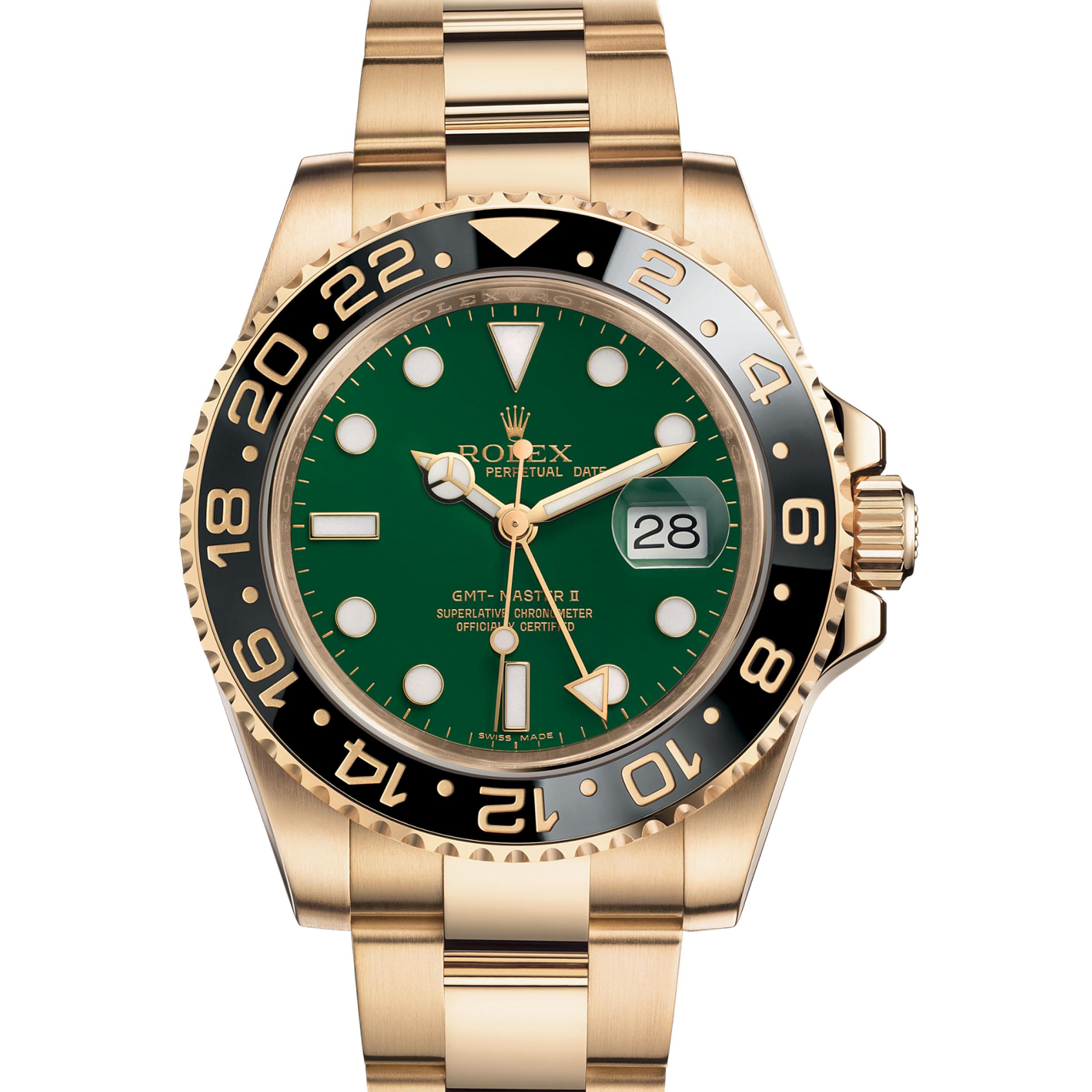 ROLEX GMT MASTER 116718LN