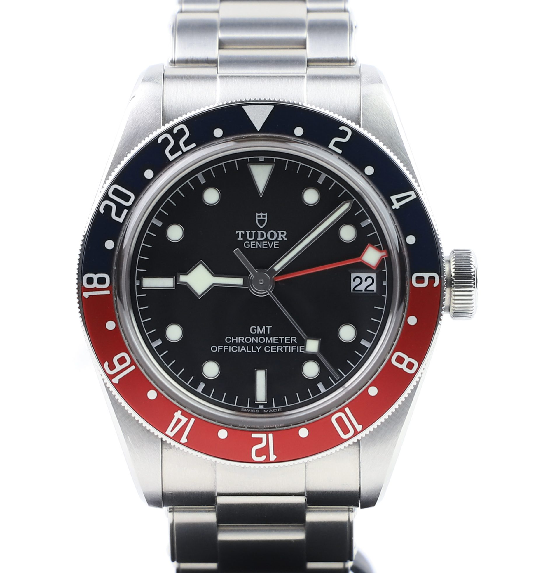 Tudor Heritage Black Bay Gmt Pepsi 79830rb Millenary Watches