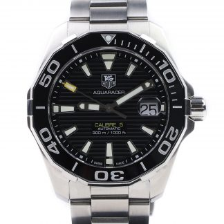 Tag Heuer Aquaracer Calibre 5 Automatic Black Steel 41mm