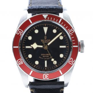 Tudor Heritage Black Bay Red 79220R Leather