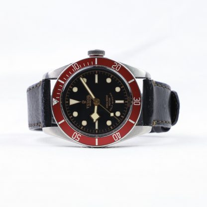 Tudor Heritage Black Bay Red 79220R Leather