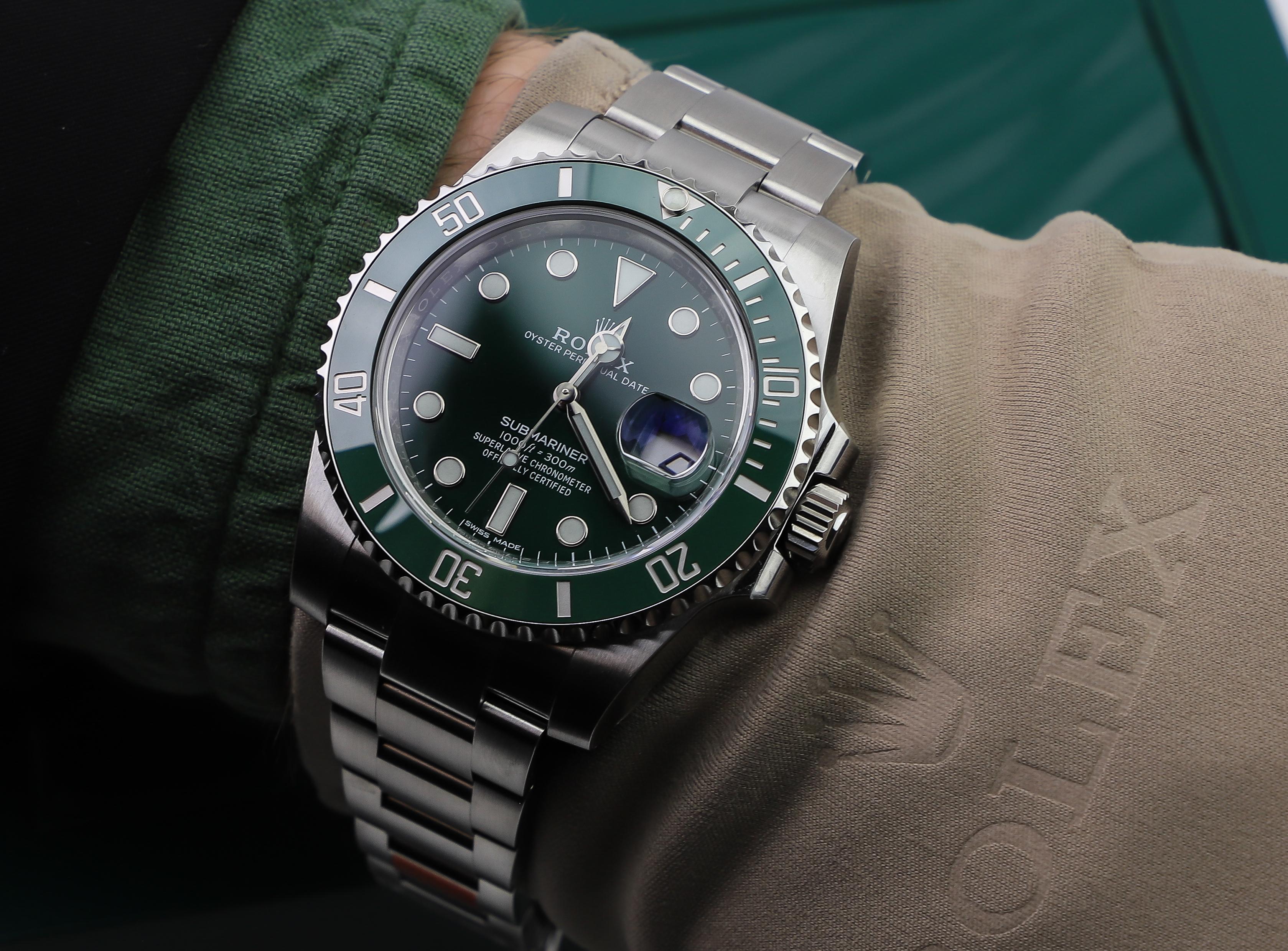 Rolex Hulk Rolex Submariner 116610LV Guide , Millenary Watches