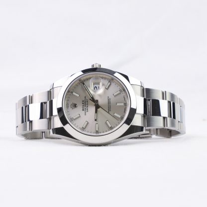 Rolex Datejust 41 126300 Silver Dial