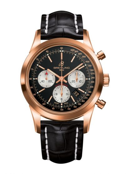 Breitling Transocean Chronograph Red Gold RB015212/BF15/743P for sale online