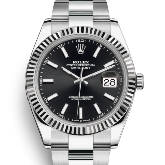 Rolex Datejust 41mm Oyster Black Dial 126334 for sale online