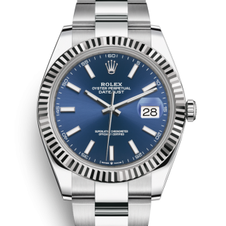 Rolex Datejust 41mm Oyster Blue Dial 126334