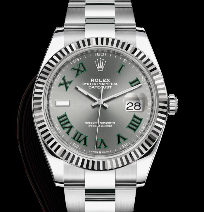 Rolex Datejust 41mm Oyster Wimbledon Dial 126334 ...