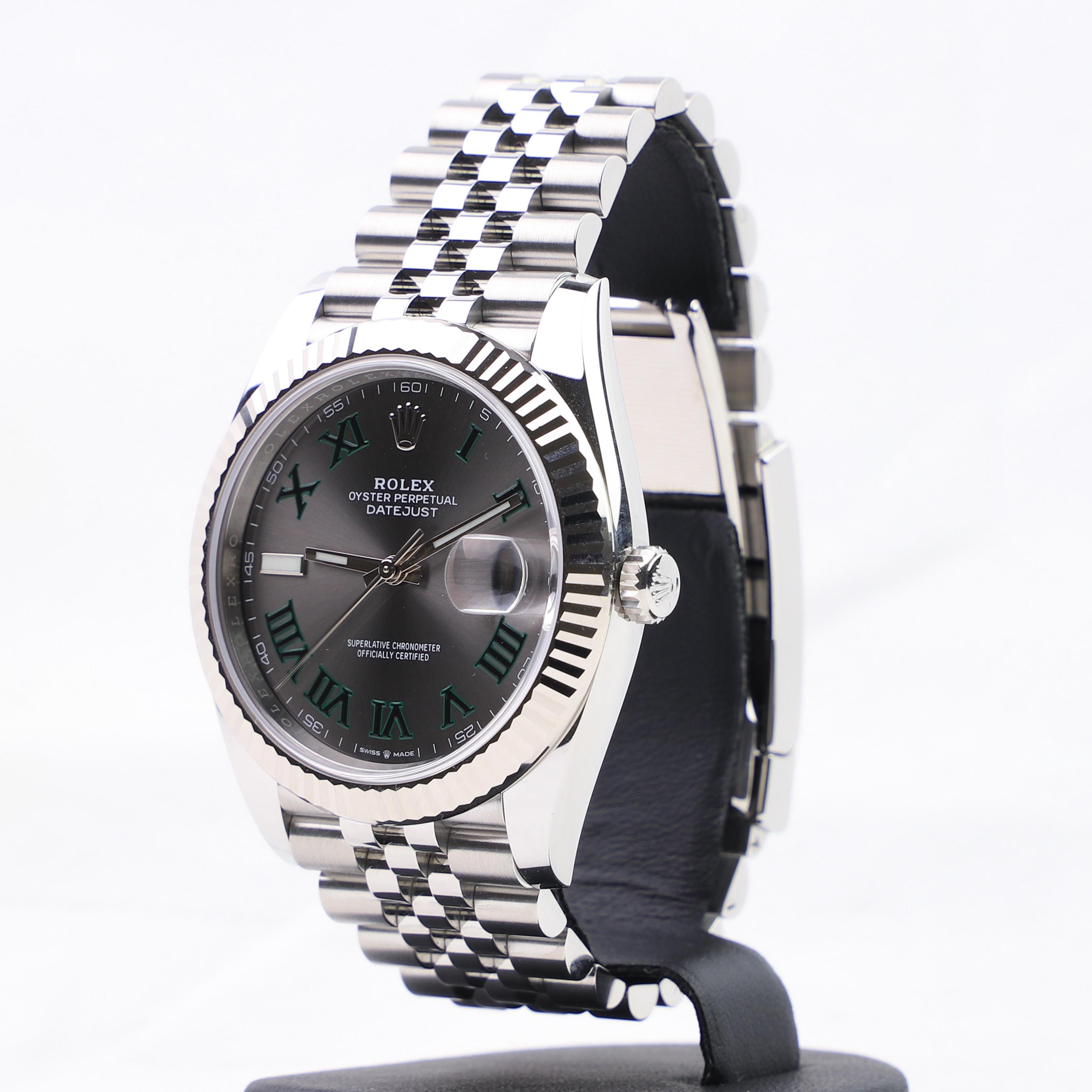 Rolex Datejust 41 126334 Wimbledon 2019 , Millenary Watches