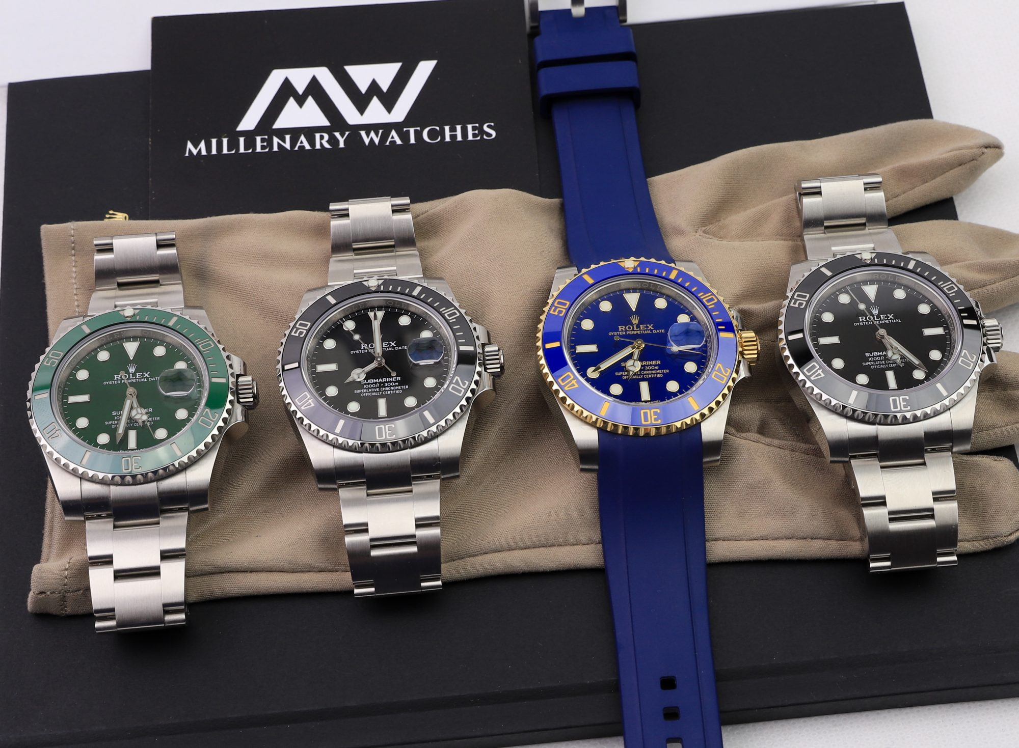 Rolex Submariner Watches Millenary Watches
