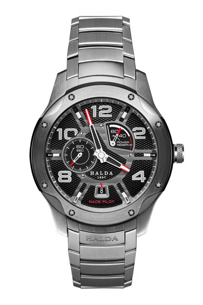 Halda Race Pilot Watch