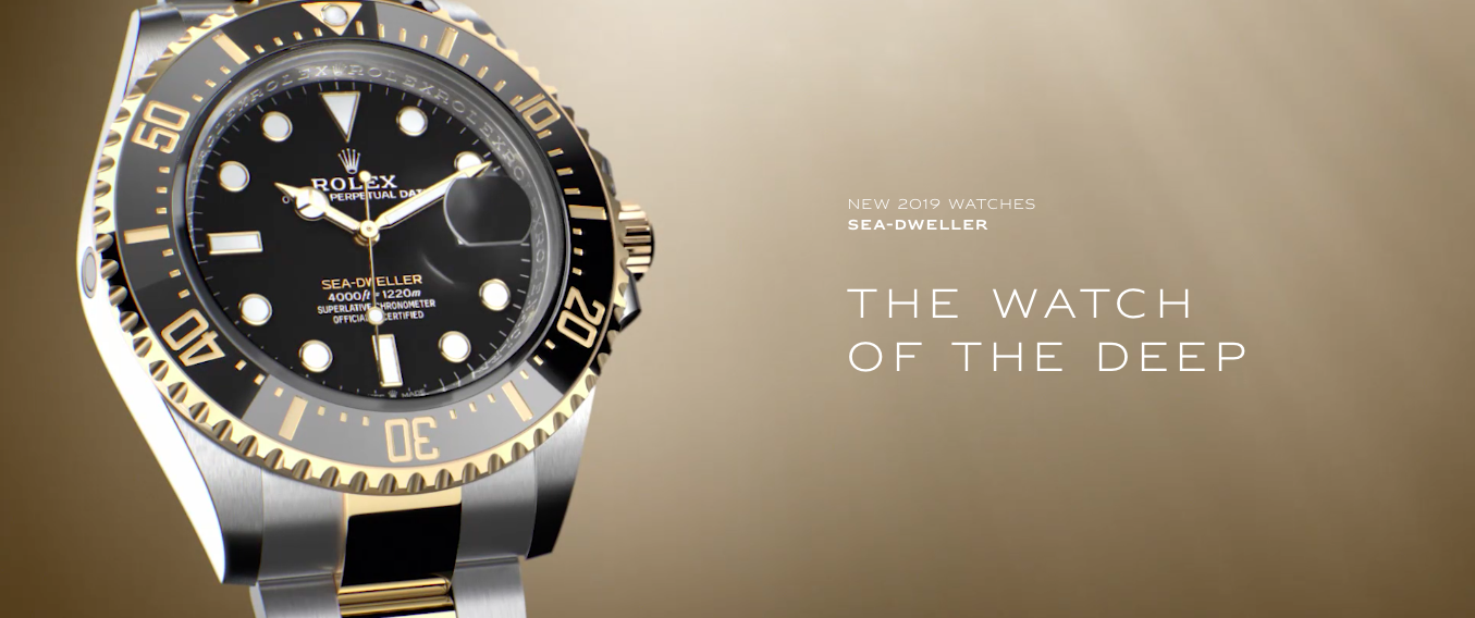 58dc714c88c Rolex Sea-Dweller 126603 Two-Tone Baselworld 2019 - Millenary Watches