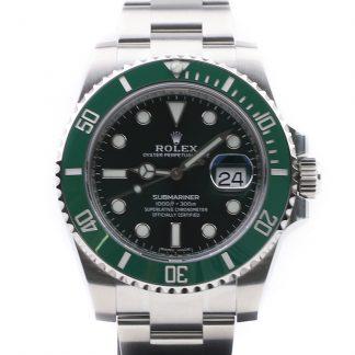 """Rolex Submariner Date Green Dial """"Hulk"""" 116610LV Unworn 2019"""