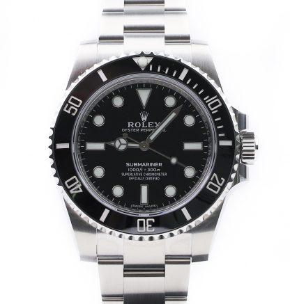 Rolex Submariner Ceramic No date 114060 2019