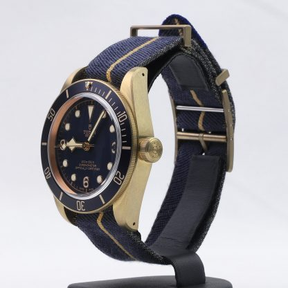 Tudor Heritage Black Bay Bronze Blue Bucherer Edition 79250BB