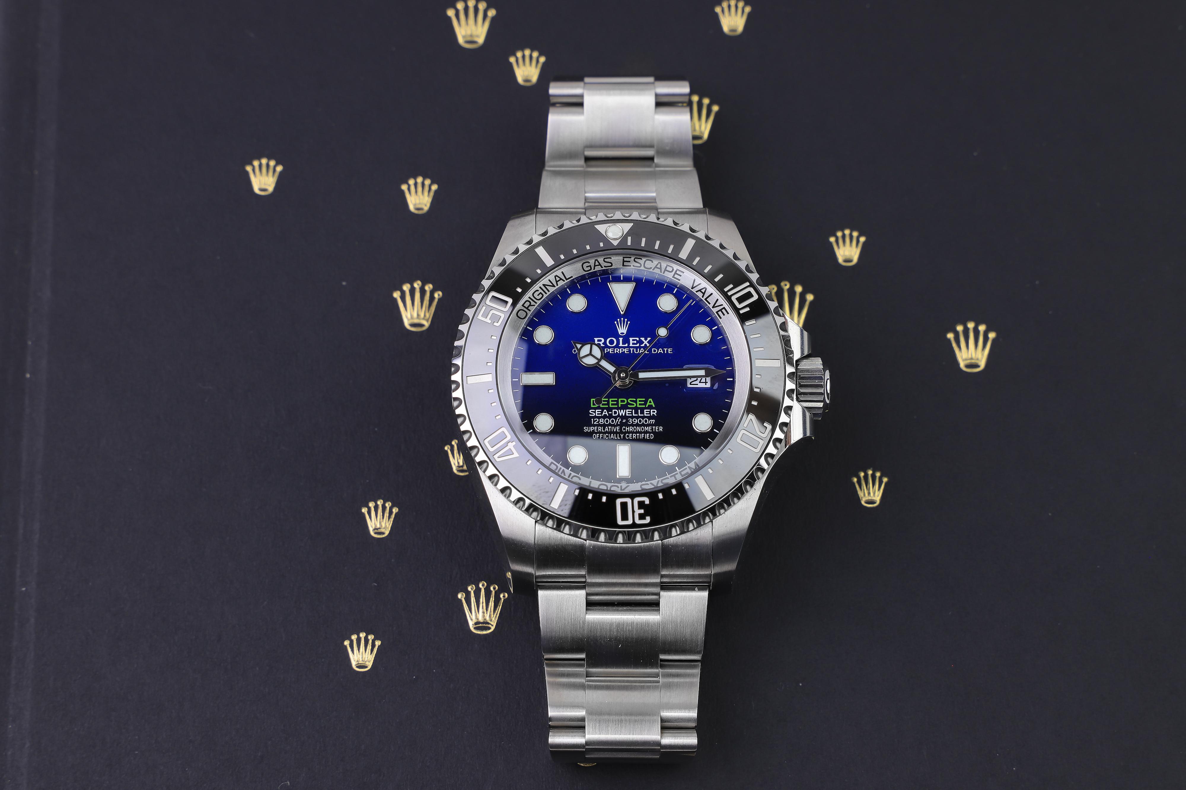 Rolex DeepSea Sea-Dweller James Cameron 126660