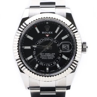Rolex Sky-Dweller 326934 Black Dial Unworn 2019