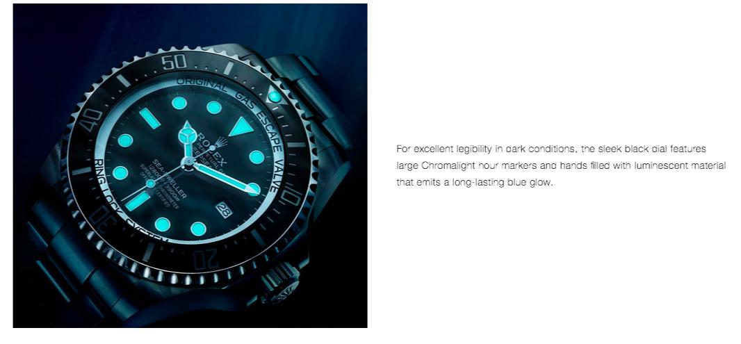 Rolex Chromalight