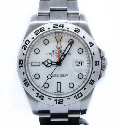 "Rolex Explorer II 216570 ""Polar"""